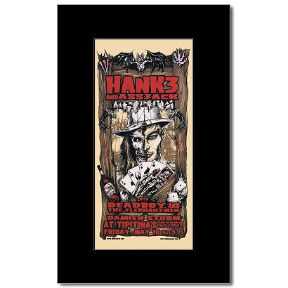 Music Ad World HANK WILLIAMS III - Tipitinas New Orleans 2002 Mini Poster - 26.4x12.4cm