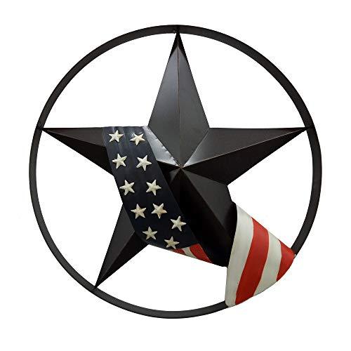 BACKYARD EXPRESSIONS PATIO · HOME · GARDEN 906785 Patriotic Star Wheel, Multi ()