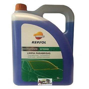 REPSOL LIMPIA PARABRISAS 5 LITROS: Amazon.es: Coche y moto