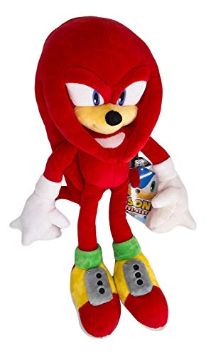 Sonic The Hedgehog Knuckles The Echidna HQ Stuffed Plush Toy Anime Gift for Kids 17