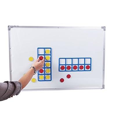 Learning Advantage Giant Magnetic Foam Ten Frames, Set of 2: Industrial & Scientific