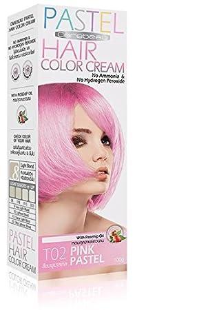 teinture coloration cheveux permanente pastel goth emo elfe pink rose pas dammoniac - Coloration Permanente Rose