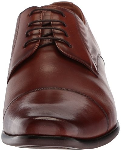 Florsheim Heren Potenza Cap Teen Veter Oxford Dress Shoe Cognac