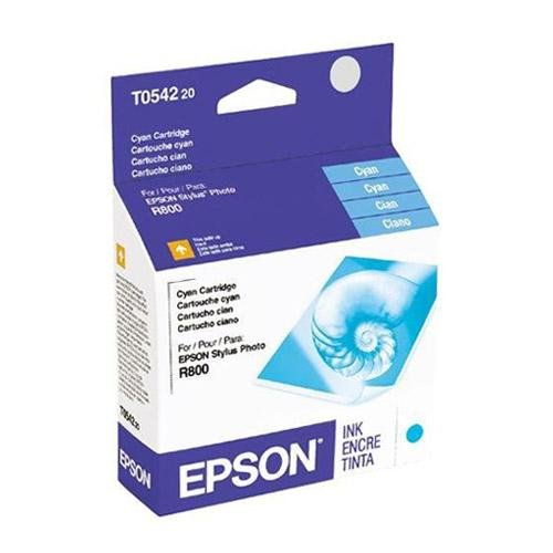 Ink Cartridge,For Stylus Photo R800,400 Page Yield,Cyan by Epson