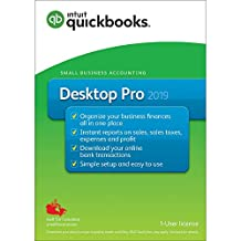 QuickBooks® Desktop Pro 2019 –Accounting & Invoicing Software, English