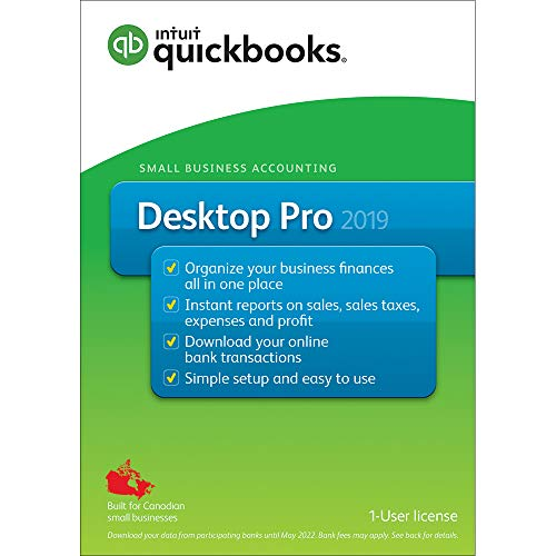 QuickBooks® Desktop Pro 2019 -Accounting & Invoicing Software, English