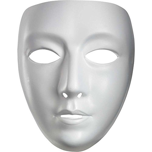 Disguise Blank Female Mask