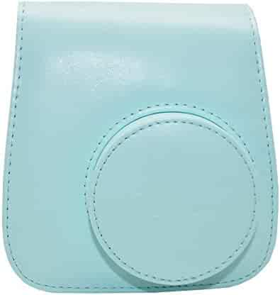 Fujifilm Instax Mini 9 Groovy Camera Case - Ice Blue