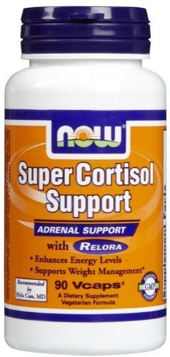 Super Cortisol Support, 90 Vcaps by Now Foods (Pack of 12)