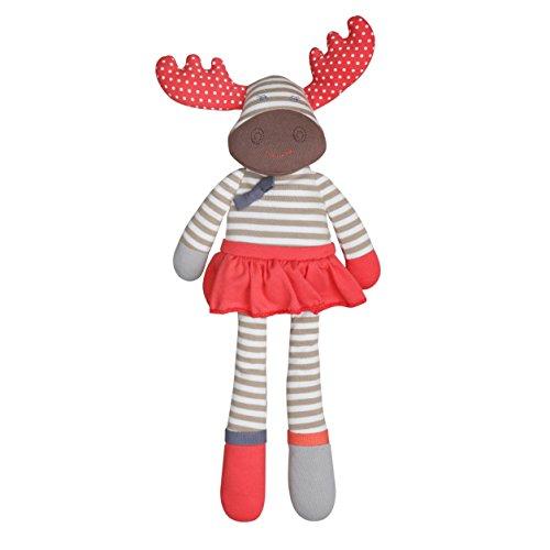 (Organic Farm Buddies Plush Toy - Margeaux Moose, 14 inches)