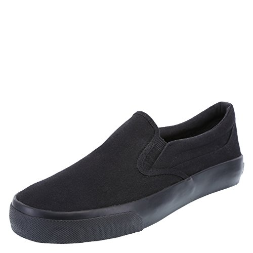 Airwalk Men's Black Men's Stitch Slip-On 8.5 Regular