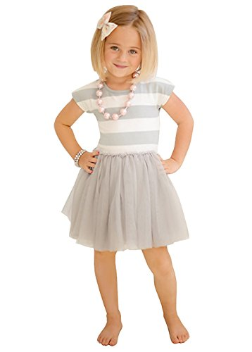 Summer Princess Striped Skirts Clothes product image