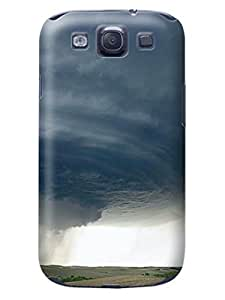 Samsung S3 phone Case, DIY ARTICLE Samsung Galaxy S3 Case, good shape Case Cover for Galaxy S3 IV i9300 with tornados design