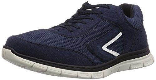 Rieker Blau Sneakers Weiss Herren B4805 15 Navy Marine qtqrv