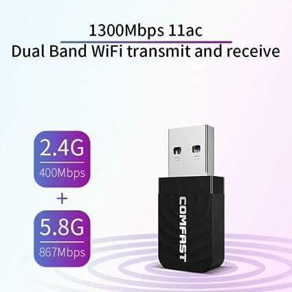 MeterMall COMFAST CF-812AC Mini USB 3.0 Wireless Network ...