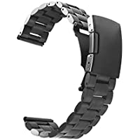 Vetoo 304 Stainless Steel 22mm Watch Bands for Moto 360 2nd Gen 46mm,Pebble Time,Time Steel,Classic,ASUS ZenWatch...