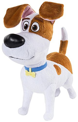 The Secret Life of Pets Exclusive 12 inch Plush Figure - Max (Best Friend Max Walking Dog)