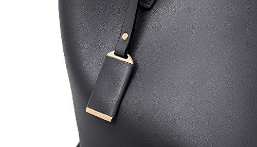 Donne Pantaloni Microfibra Delle I Mano Tutti Di Giorni In Casuali Sacchetti Grigio Voguezone009 5EWqnfp5