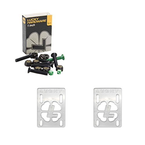 Lucky Skateboard Hardware and Risers Combo Kit 1