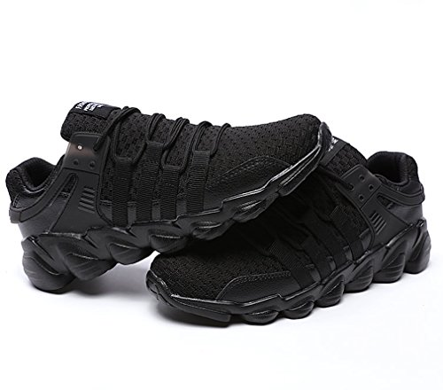Basse Corsa da Respirabile 2nero Running Sportive Mesh Unisex Sneakers Adulto Ginnastica Trekking GUDEER Uomo Shoes Outdoor Donna Sport Fitness 718 Tennis Scarpe qEzwxzPg