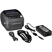 Zebra GX420d Monochrome Desktop Direct Thermal Label Printer with Fast Ethernet Technology, 6 in/s Print Speed, 203 dpi Print Resolution, 4.09 Print Width, 100-240V AC