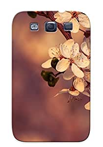 Durable Protector Case Cover With Nature Flowers Plants Hot Design For Galaxy S3 (ideal Gift For Lovers)