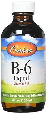 Carlson Labs Vitamin B-6 Liquid, 4 Fluid Ounce