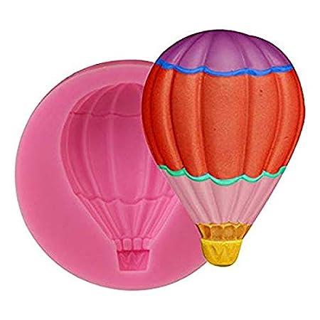 Hot Air Globo - Molde de silicona para decoración de tartas ...
