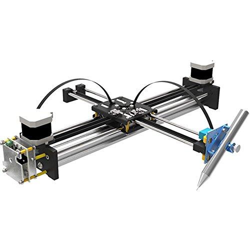 GoooGi Geek-Lab Assembled XY Plotter - Painting/Handwriting Robot Kit - High-Precision - Corexy/Hbot Structure - Open Source for Maker/Geek ()