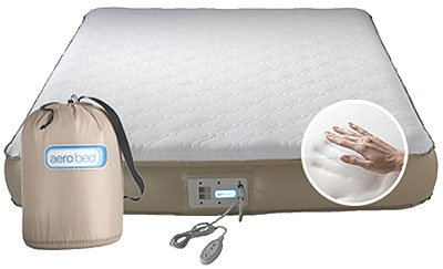 AeroBed Premier Memory Foam Inflatable Bed, Full: Amazon.co.uk