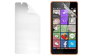 Kit Me Out ES ® Protector de pantalla + gamuza de microfibra para Microsoft Lumia 540