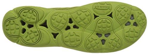 Geox U Nebula F, Scarpe da Ginnastica Basse Uomo Verde (Lime Greenc3015)