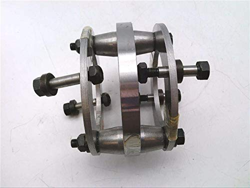 Spacer 0.96IN Between Shaft Ends 126 Series REXNORD 214444 Center Member Assembly 5500 Unbalanced // 6500 Balanced MAX Speed DISC Coupling Steel 3.84IN Outside Diameter