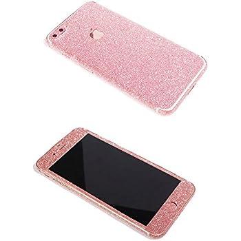 Iphone 7 plus bling skin sticker supstar full body coverage glitter vinyl decal dustproof