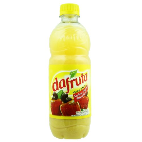 Dafruta Cashew Juice Concentrate - 16.9 FL.Oz | Suco Concentrado Dafruta Sabor Caju - 500ml - (PACK OF 01)