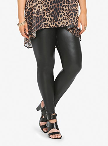 Faux-Leather-Leggings