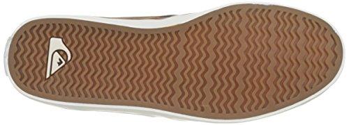 Quiksilver Deluxe Mid Skateboardschuh Herren Braun Braun Shorebreak Braun Braun rxrt4v