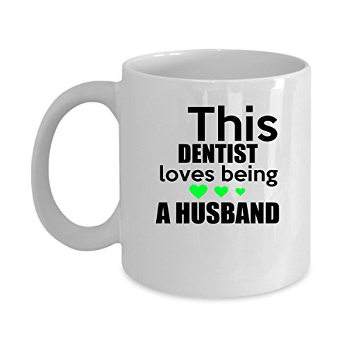 5325 Chocolate (DENTIST Coffee Mug - DENTIST Love Being A Husband - DENTIST Gifts For Men, Woman, Friends -Birthday, Christmas Gifts 11Oz Ceramic White Funny Mug)