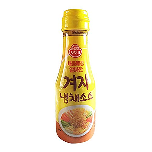 Ottogi Mustard Sauce for Cold Plate 250g 겨자 냉채 소스