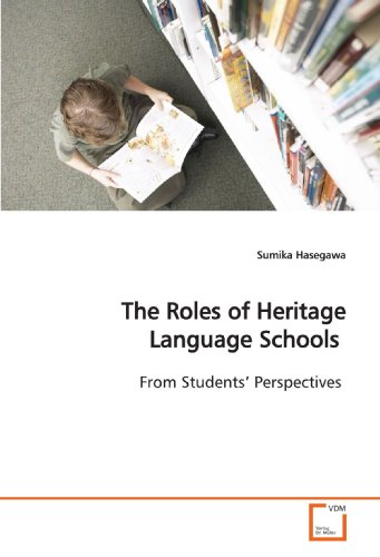 The Roles of Heritage Language Schools: From Students¿ Perspectives