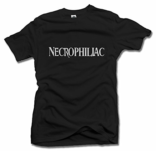 NECROPHILIAC HALLOWEEN T-SHIRT 3X Black Men's Tee (6.1oz)