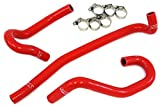HPS 57-1340-RED-2 Red Silicone Heater Hose Kit (Coolant)