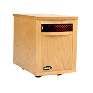 Sunheat 1500 Infrared Heater - Golden Oak