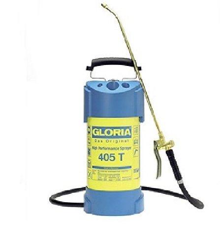 Gloria Drucksprüher Hochleistungssprühgerät Stahl 5L 405T, gelb