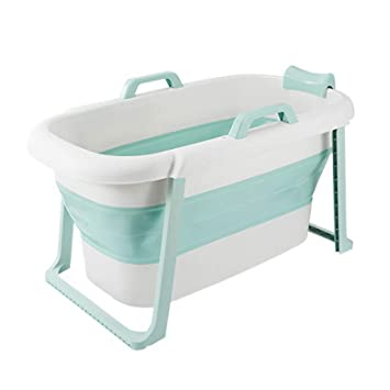Fenfen Niños bañera Plegable Bañera para Adultos Plegable Bañera Grande Piscina para el bebé Bañera Desmontable