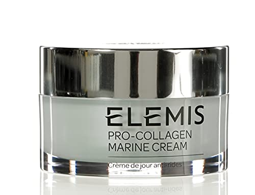 ELEMIS Pro-Collagen Marine Cream   Lightweight Anti-Wrinkle Daily Face Moisturizer Firms, Smoothes, and Hydrates with Powerful Marine + Plant Actives