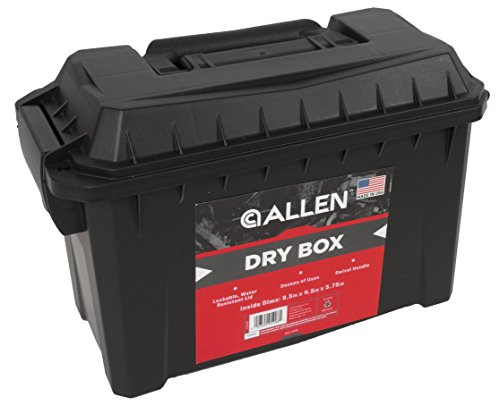 Allen Company, Dry Box, Black, 9.5 x 4.5 Size