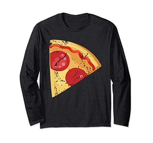 Pizza pie Matching halloween costume for couples for adults Long Sleeve T-Shirt