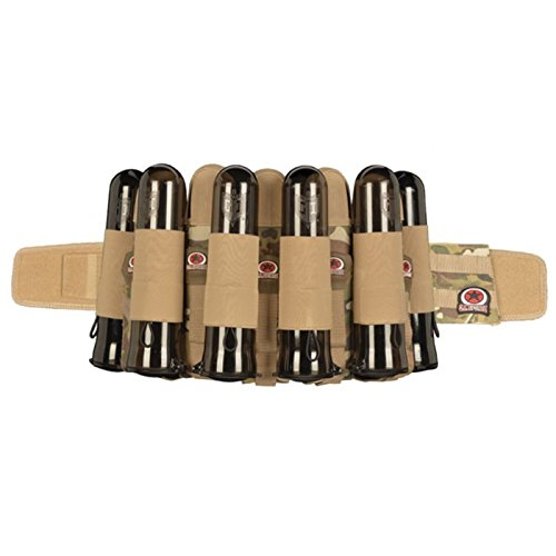 G.I. Sportz Paintball 5+6 Glide Pack Harness - Desert by GI Sportz