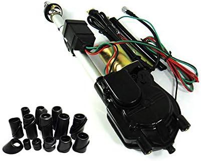 Automática Eléctrica Motor Antena Coche Audi 80 Cabrio Cromo Antena